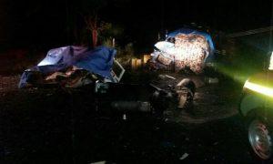 acidente, mata quatro pessoas na BR-356 (Foto: Márcio Gárbazza)