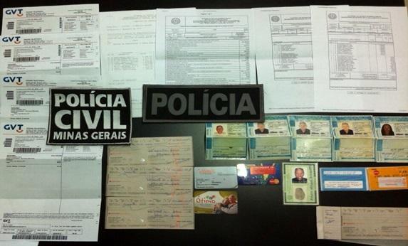 Vovô golpista é preso em BH (Foto: Divulgaçaõ)