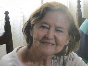 Luiza, mãe de Marcelo Oliveira, faleceu aos 86 anos (Foto: Gabriel Duarte)
