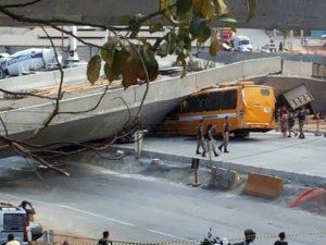 Viaduto (Foto: Divulgação / PM)
