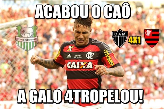 Flamengo vira alvo de zoações depois de goleada - Foto: Divulgação