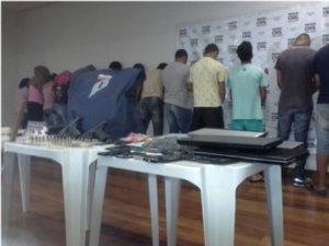 Mega operação da Polícia Civil apreende 20 pessoas no Triângulo Mineiro - Foto: Divulgação / Polícia Civil
