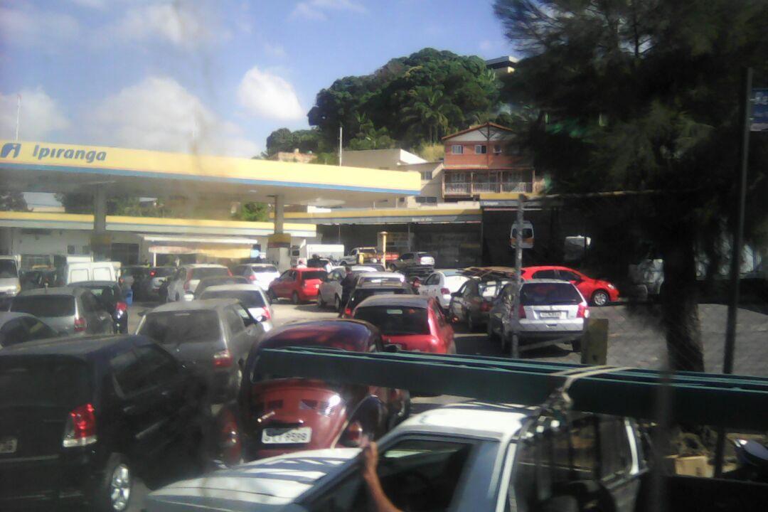 Posto de gasolina - Foto: Por Dentro de Minas