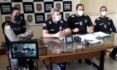 Delegado Wesley Campos - Foto: Divulgação/PCMG