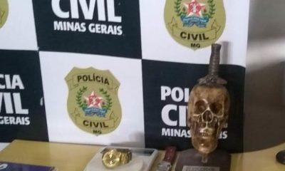 Polícia Civil prende homem por porte ilegal de arma em Betim - Foto: Divulgação/PCMG