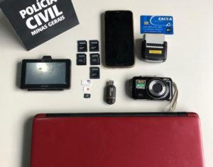 Polícia Civil prende suspeito de pedofilia em Matozinhos - Foto: Divulgação/PCMG