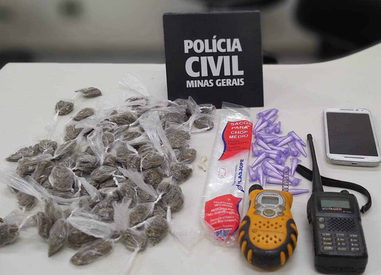Polícia Civil prende irmãos por tráfico de drogas em Pouso Alegre - Foto: Divulgação/PCMG
