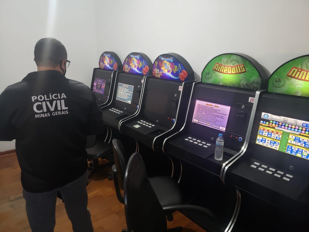Polícia realiza operação para combater jogos de azar em Poços de Caldas - Foto: Divulgação/PCMG