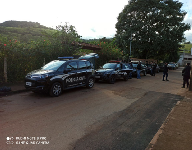 Operação Anjos Caídos prende cinco suspeitos de tráfico em Belo Vale - Foto: Divulgação/PCMG