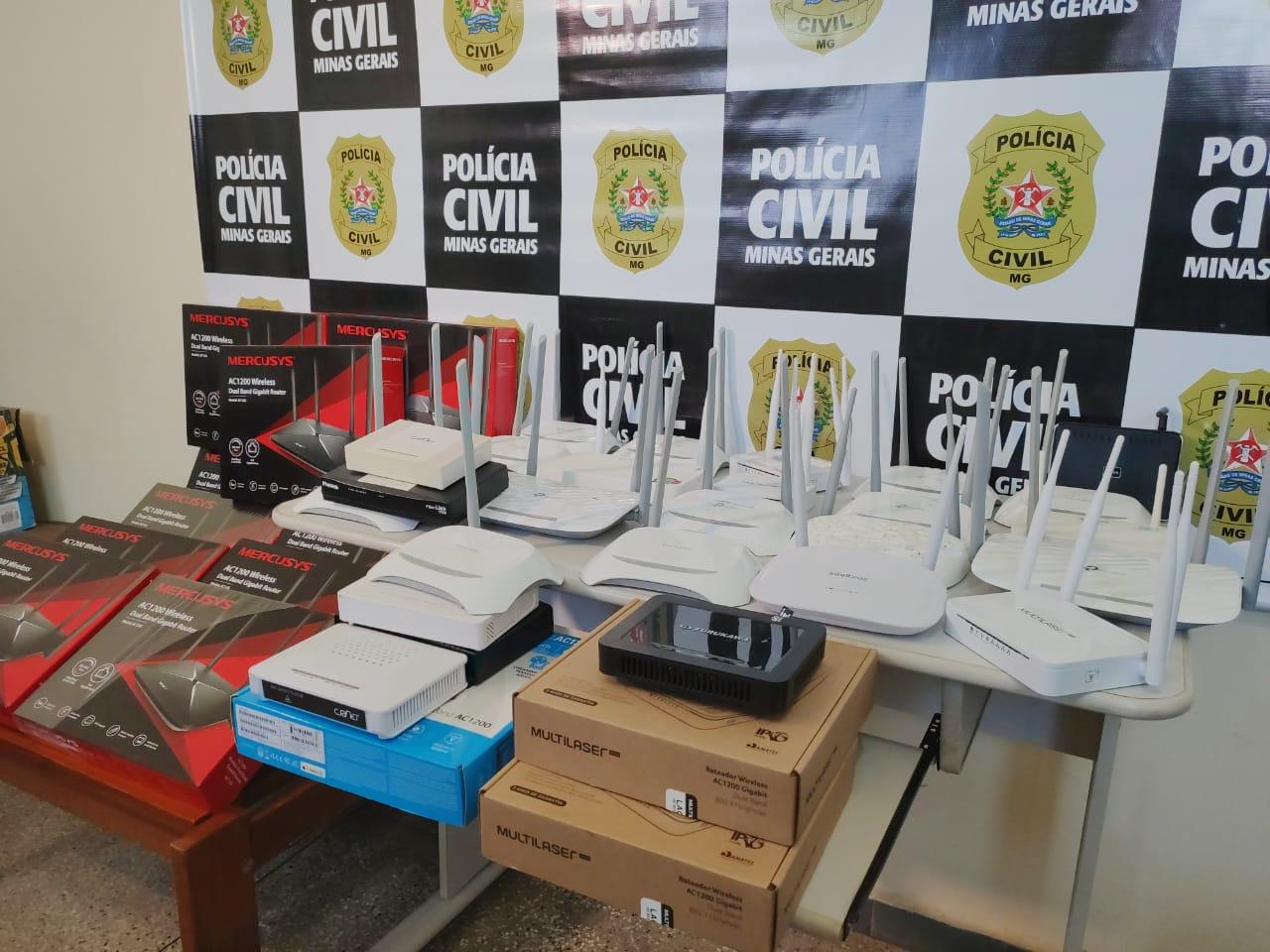 Polícia prende empresário suspeito de receptação em Araxá - Foto: Divulgação/PCMG