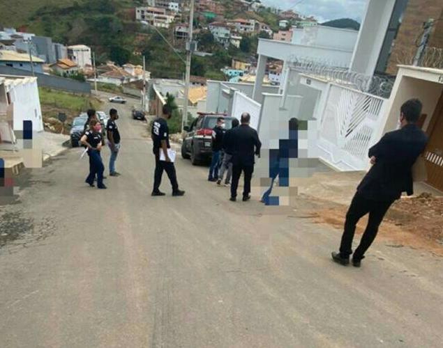 Polícia realiza reprodução simulada de tentativa de homicídio em Guanhães