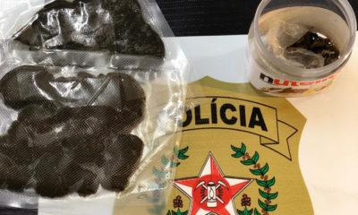 Polícia Civil prende suspeito com haxixe em Divinópolis
