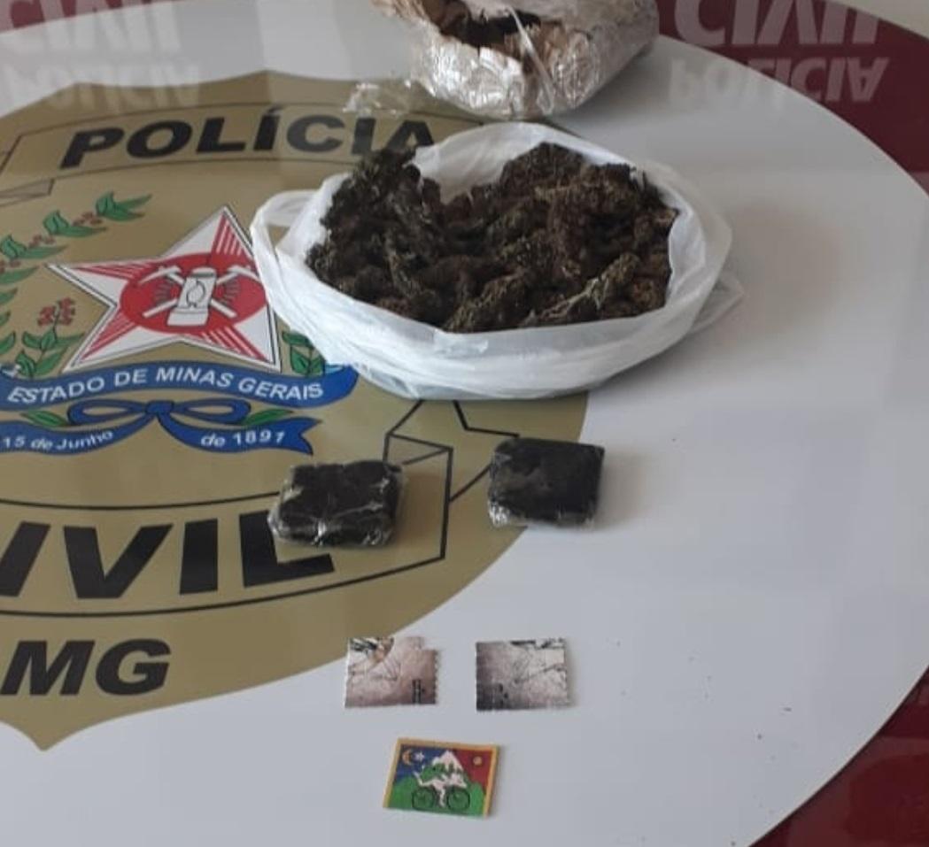 Polícia prende universitário suspeito de tráfico em Montes Claros - Foto: Divulgação/PCMG