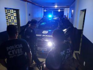 Polícia cumpre mandados de busca contra suspeitos de homicídio em Paracatu - Foto: Divulgação/PCMG