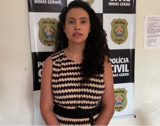 Delegada Mellina Isabel Silva Clemente - Foto: Divulgação/PCMG