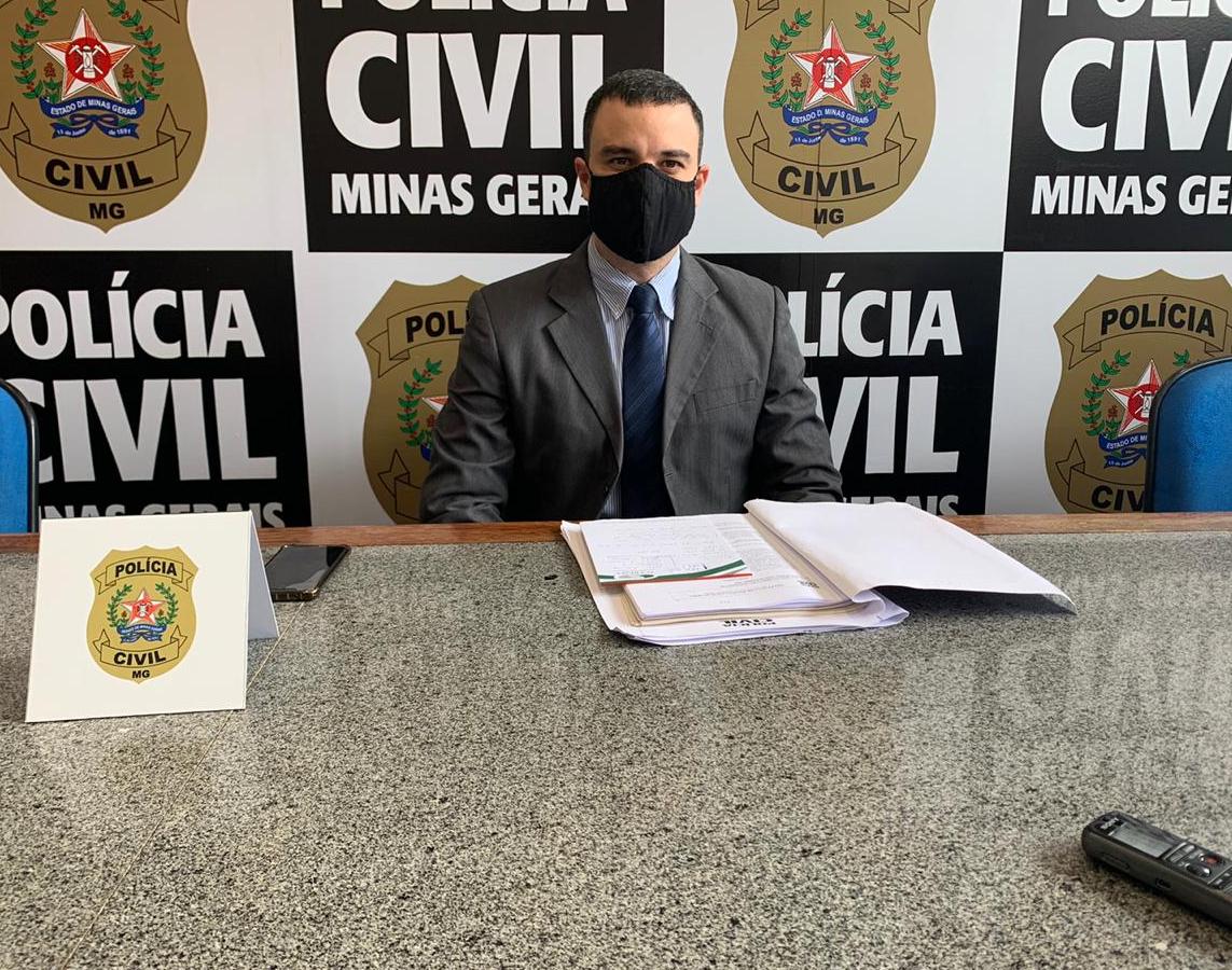 Delegado Helton Cota, responsável pelo caso - Foto: Divulgação/PCMG