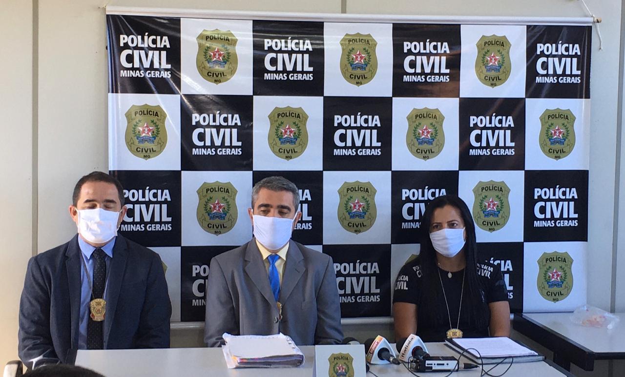 Delegado Regional de Nova Lima, Thiago Rocha Ferreira - Foto: Divulgação/PCMG