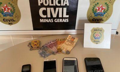 Polícia Civil prende em Januária suspeito de dois homicídios tentados - Foto: Divulgação/PCMG
