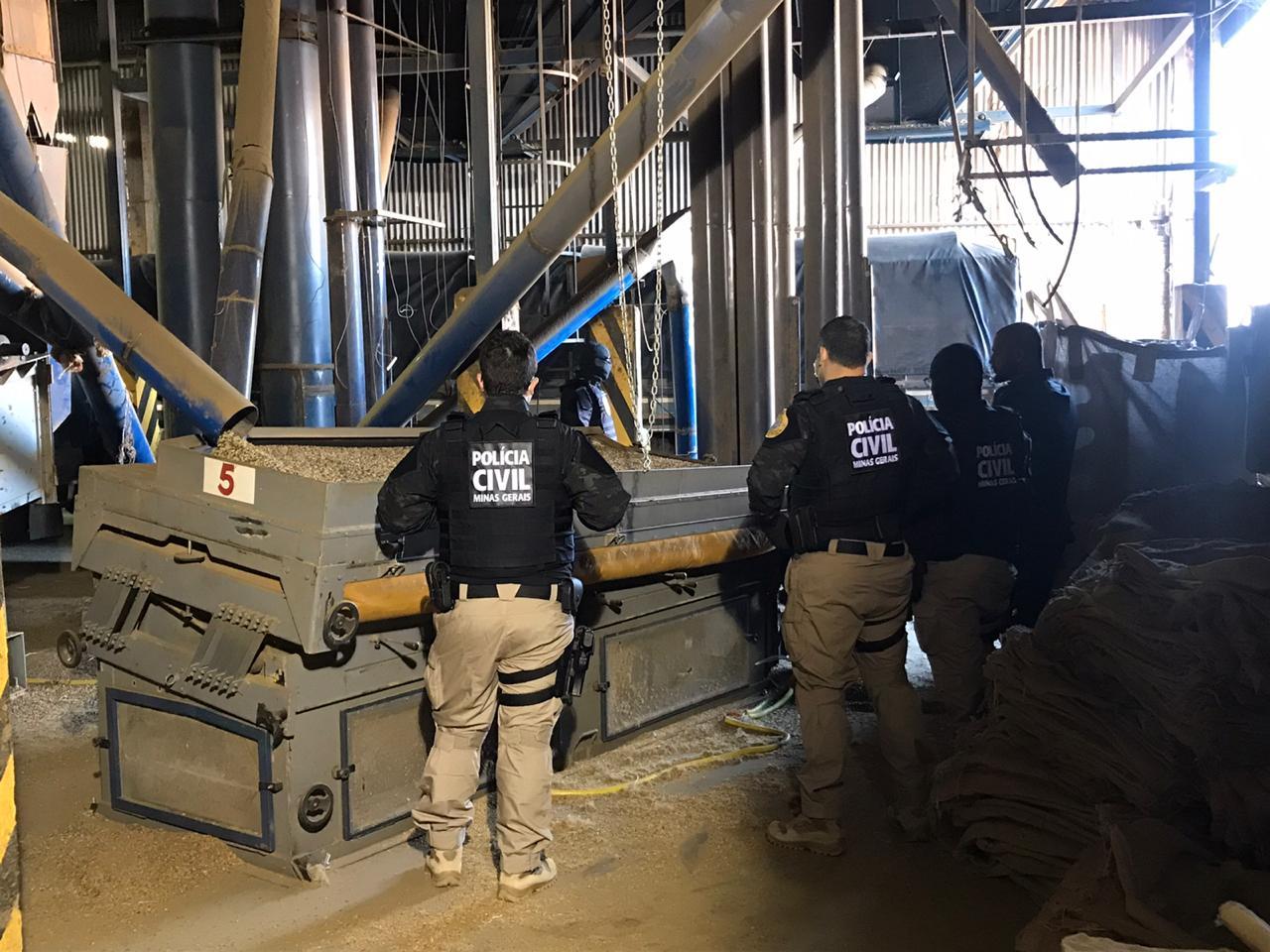 Operação Fake News investiga fraude em seguro de carga no Sul de Minas - Foto: Divulgação/PCMG
