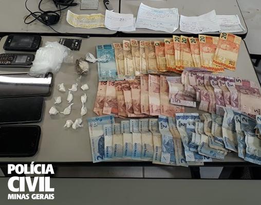 Seis são presos em operação de combate ao tráfico no Centro-Oeste - Foto: Divulgação/PCMG