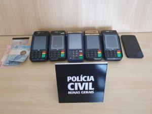 Polícia prende suspeito de aplicar golpe em Poços de Caldas - Foto: Divulgação/Polícia Civil