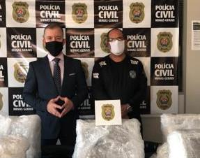 Polícia recupera carga de respiradores roubada em Ribeirão das Neves - Foto: Divulgação/Polícia Civil