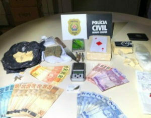 Polícia prende homem com cocaína em Três Corações - Foto: Divulgação/PCMG
