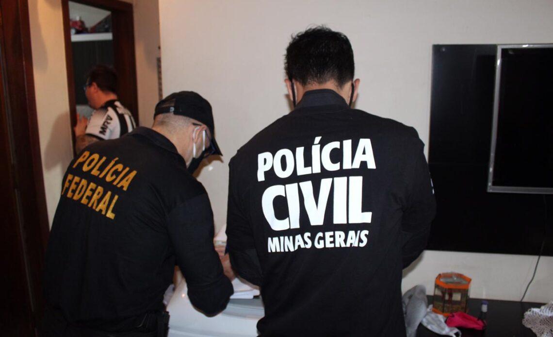 Policiais deflagra maior operação da história contra organização criminosa - Foto: Divulgação/PCMG