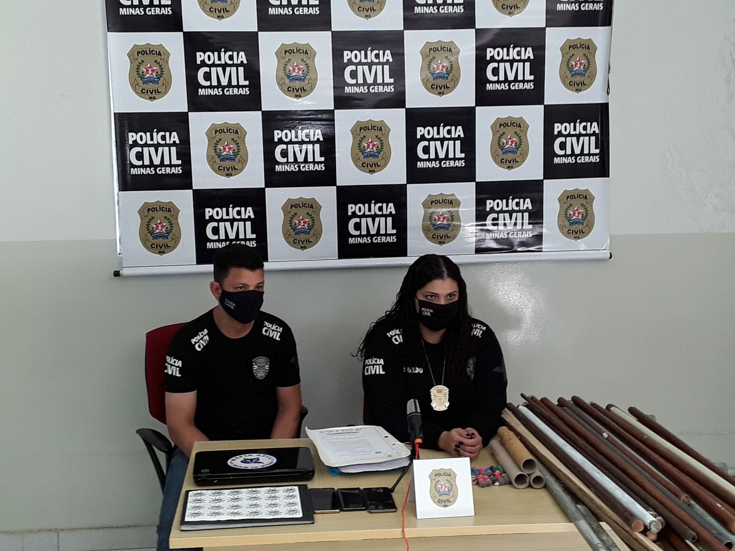 Delegada responsável pelo inquérito policial, Fabíola Oliveira - Foto: Divulgação/Polícia Civil
