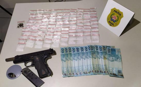 Polícia Civil prende suspeitos por tráfico de drogas em Campo Belo - Foto: Divulgação/PCMG