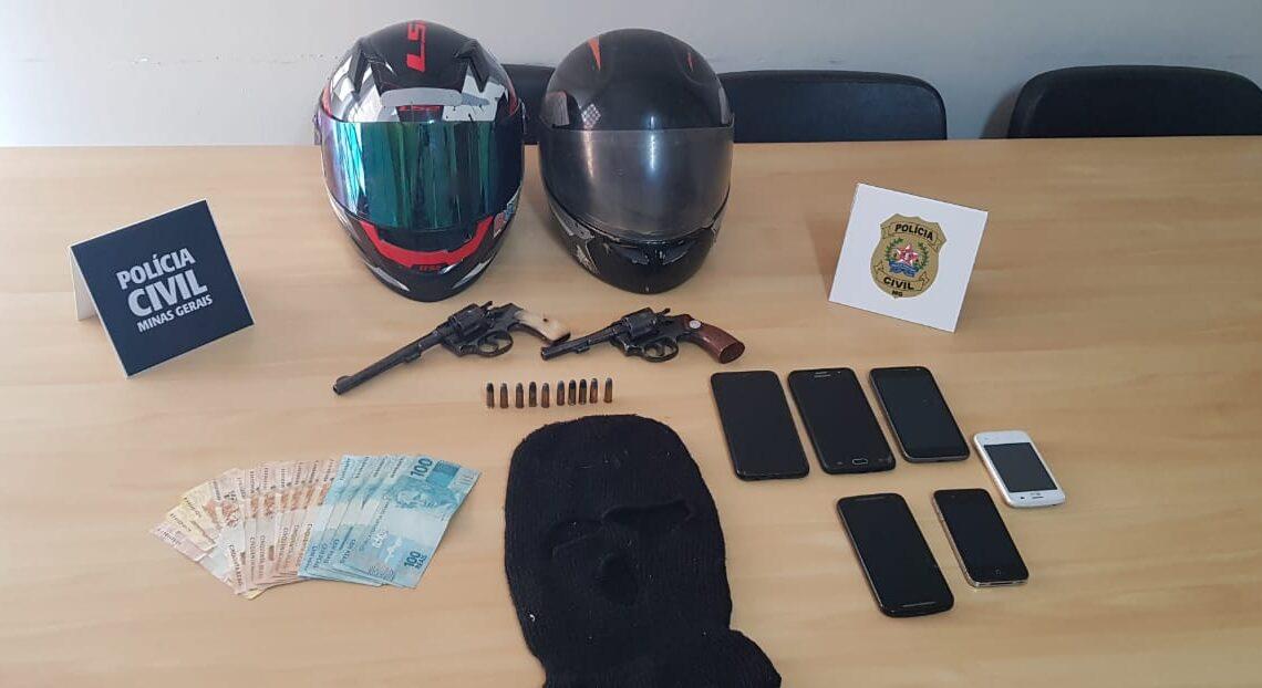 Polícia prendem suspeito de homicídio horas depois do crime em São Sebastião do Paraíso - Foto: Divulgação/PCMG