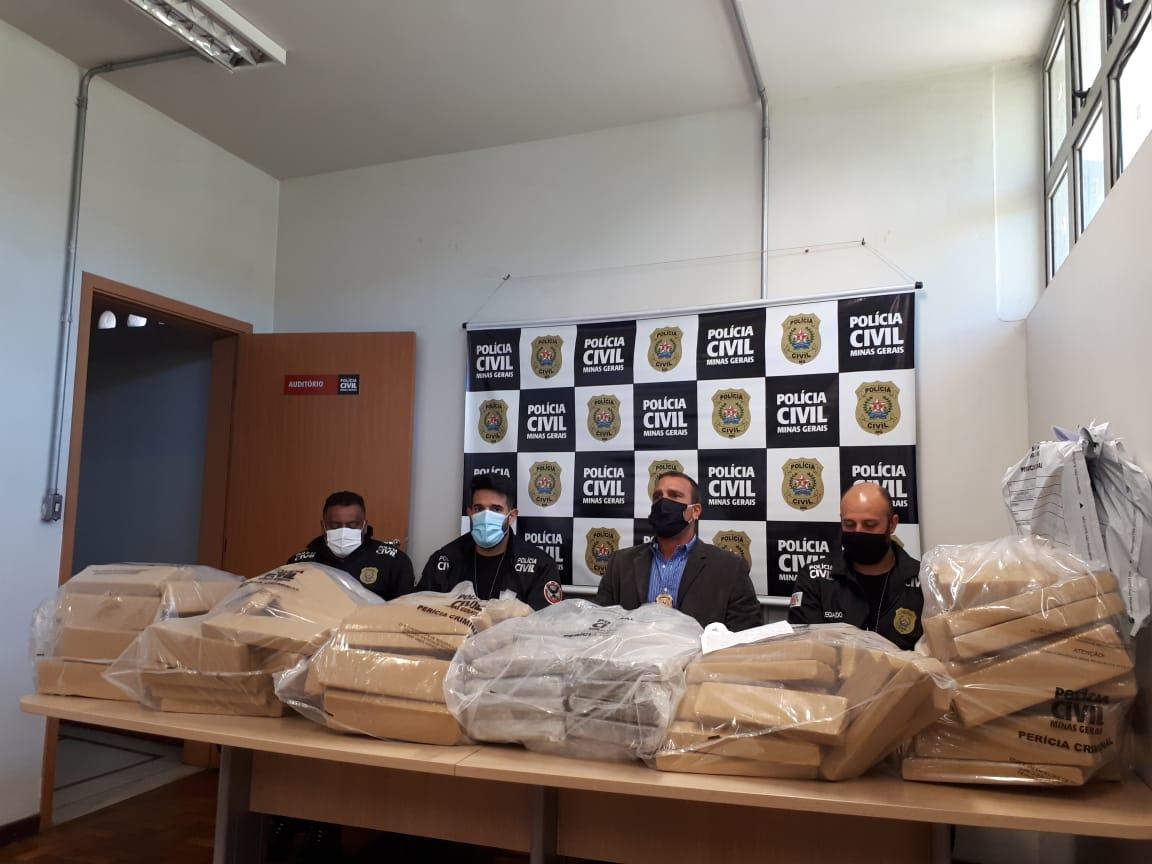 Polícia Civil identifica grupo especializado no tráfico de skunk em BH - Foto: Divulgação/Polícia Civil