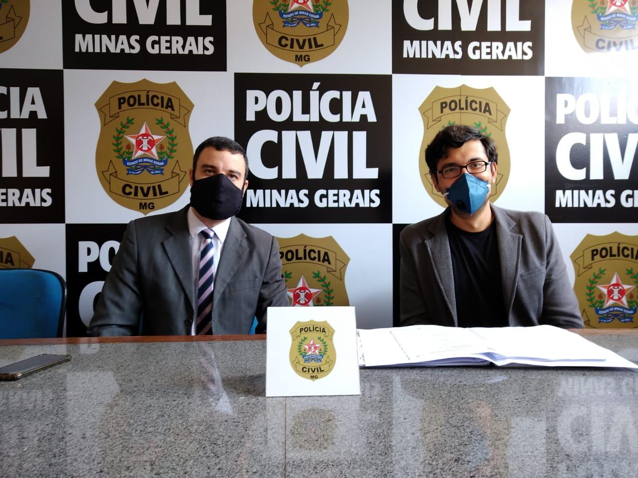 Polícia prende suspeito de homicídio em Itabira - Foto: Divulgação/PCMG