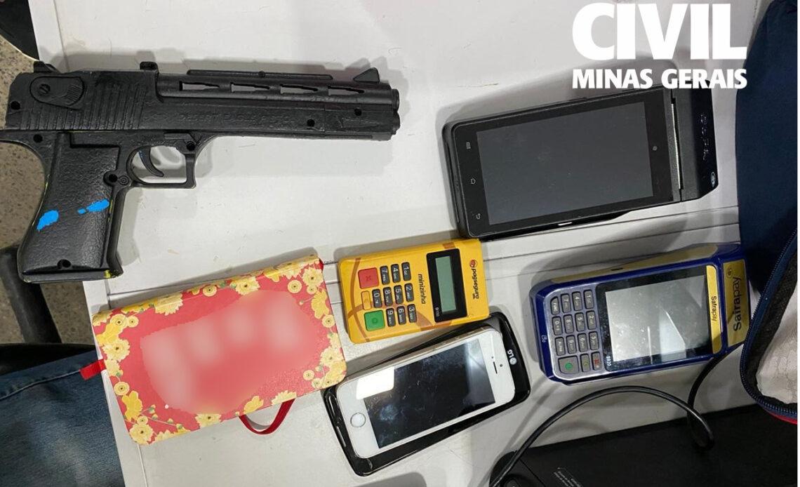 Polícia investiga suspeito de ameaça e agiotagem em João Monlevade - Foto: Divulgação/PCMG