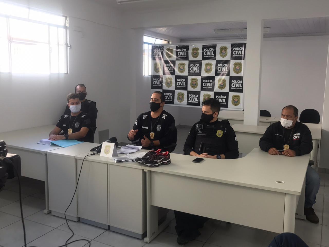 Polícia indicia 18 suspeitos de integrarem organização criminosa em Contagem - Foto: Divulgação/PCMG