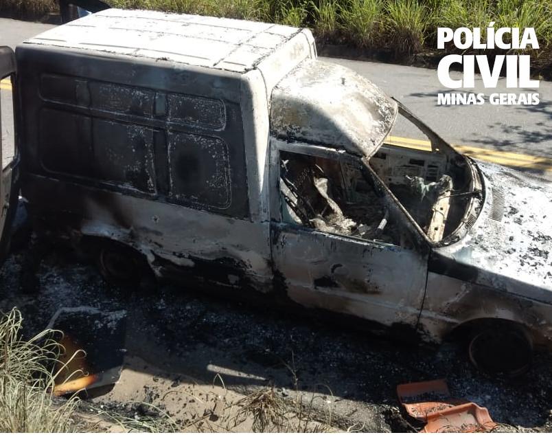 Polícia conclui investigação sobre morte de homem carbonizado em Vespasiano - Foto: Divulgação/Polícia Civil