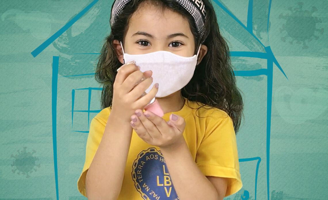Campanha da LBV incentiva hábitos saudáveis em tempos de pandemia - Foto: Divulgação/LBV