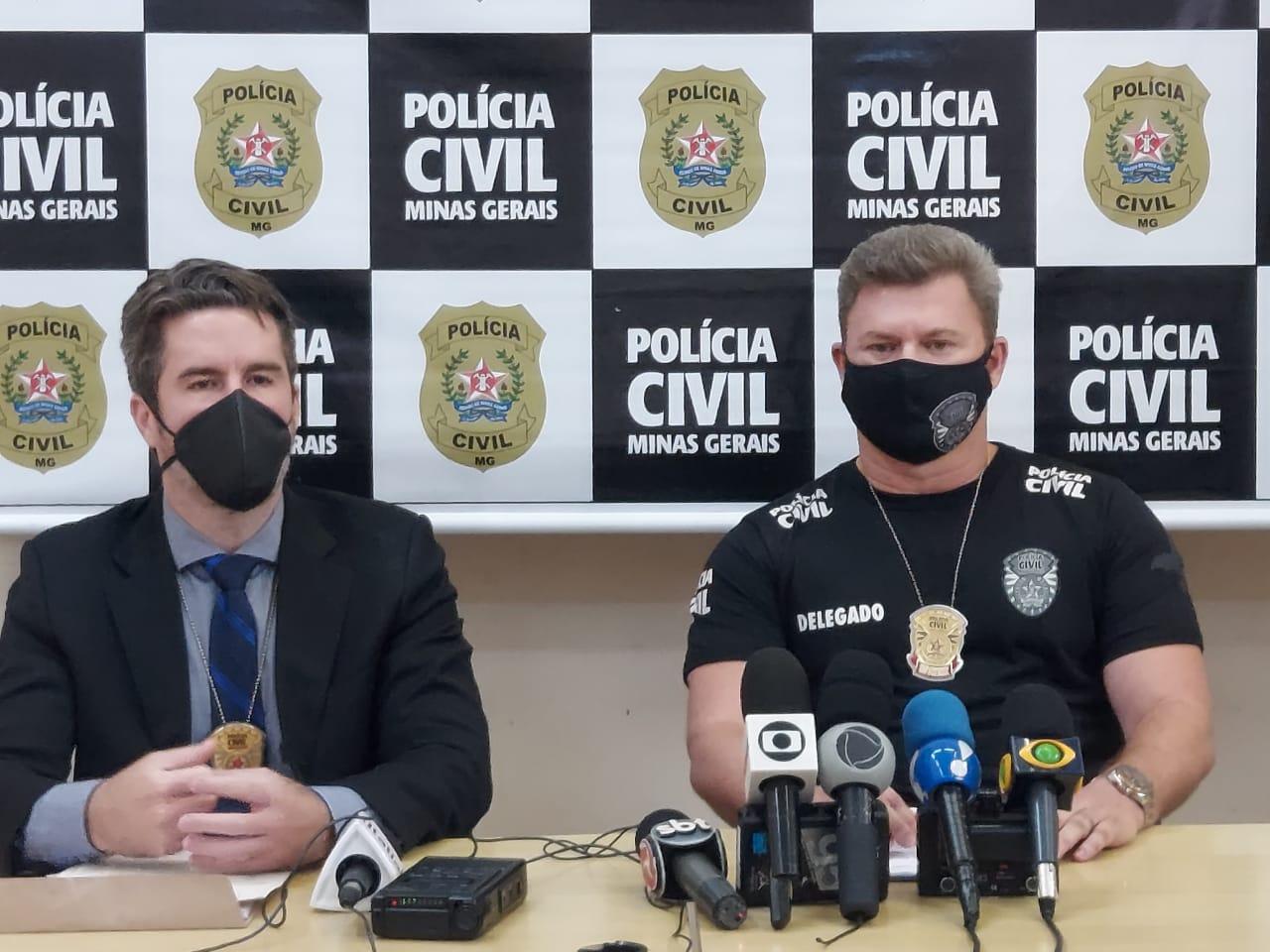 Delegado-Geral Wagner Sales responsável pelo caso - Foto: Divulgação/PCMG