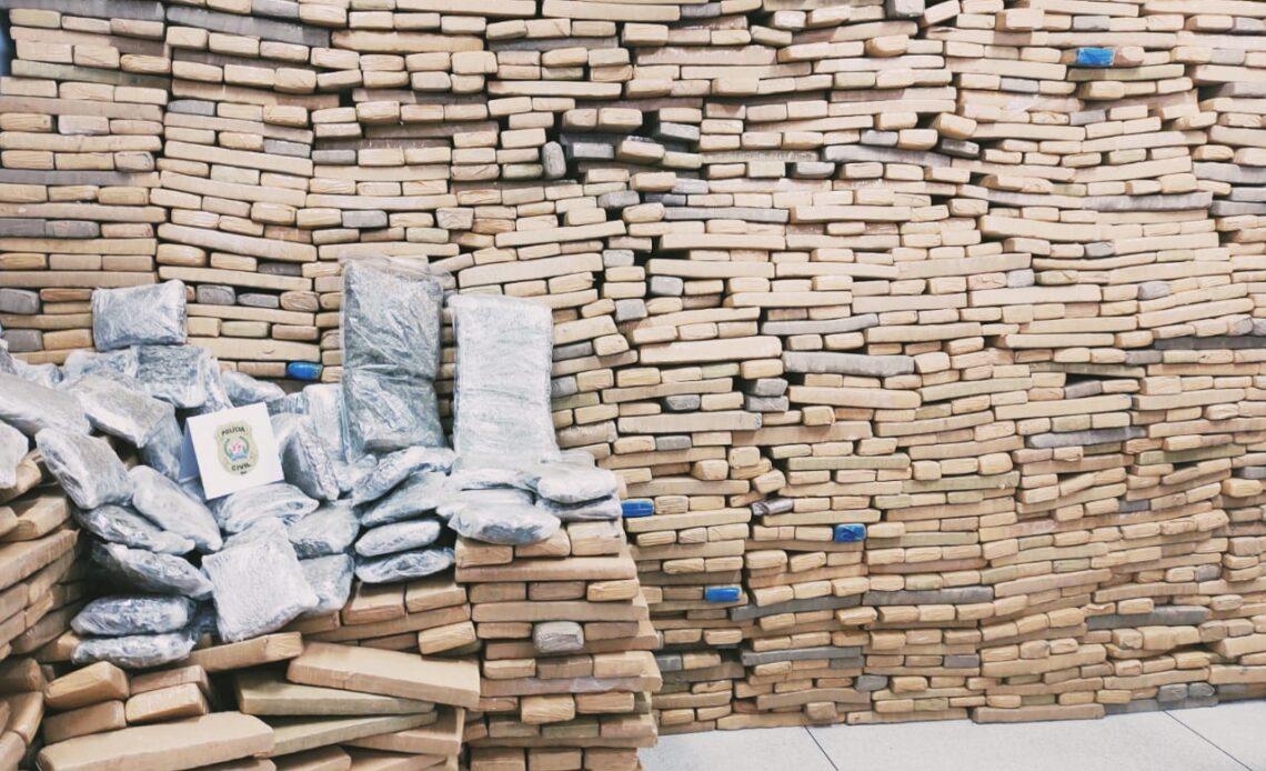 Polícia apreende quase três toneladas de maconha no Triângulo Mineiro - Foto: Divulgação/PCMG