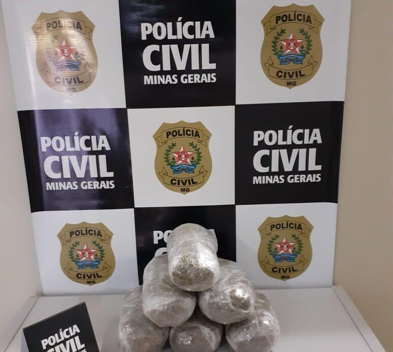 Polícia prende suspeitos e apreende drogas em São Sebastião do Paraíso - Foto: Divulgação/PCMG