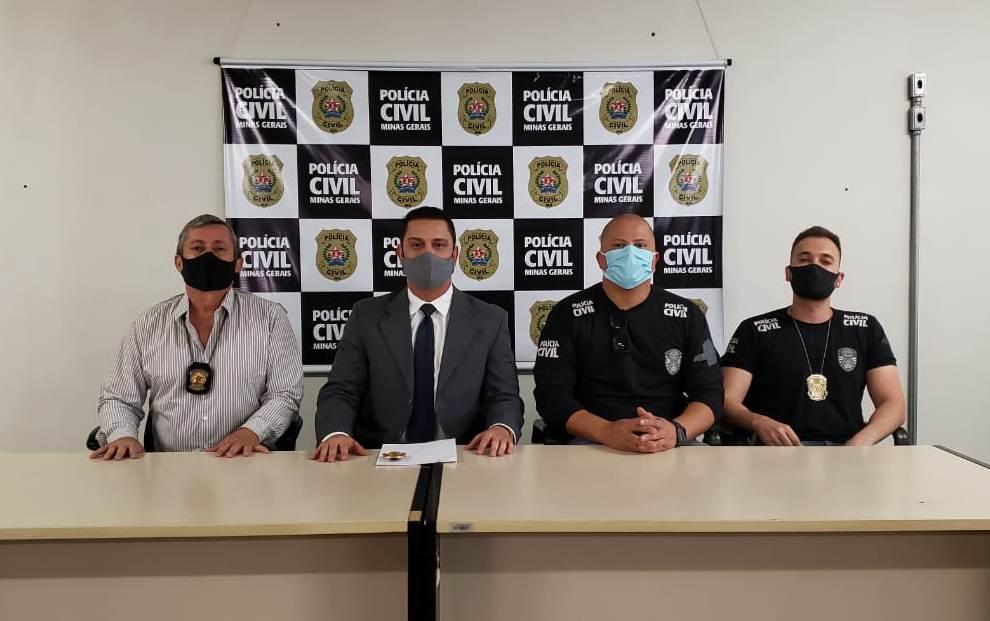 Polícia Civil prende três funcionários de mineradora em Nova Lima - Foto: Divulgação/PCMG