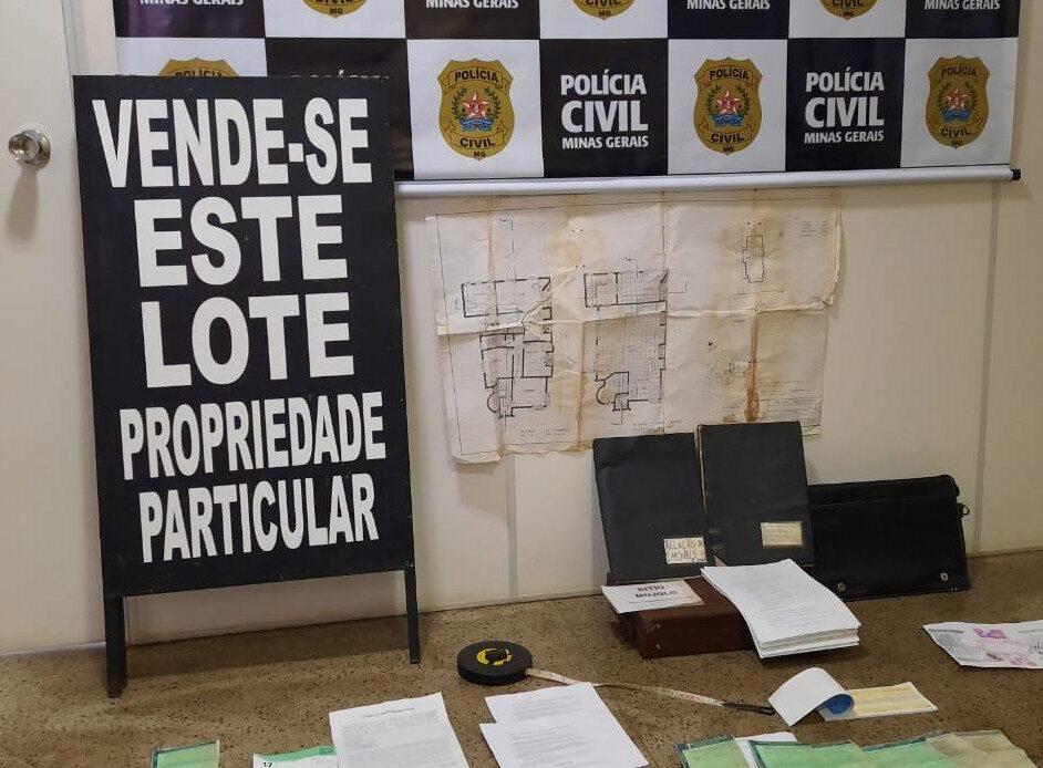 Polícia investiga falsa venda de lotes em João Monlevade - Foto: Divulgação/PCMG