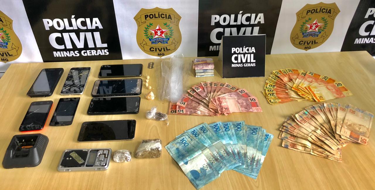 PC realiza operação de combate ao tráfico de drogas em Poços de Caldas - Foo: Divulgação/PCMG