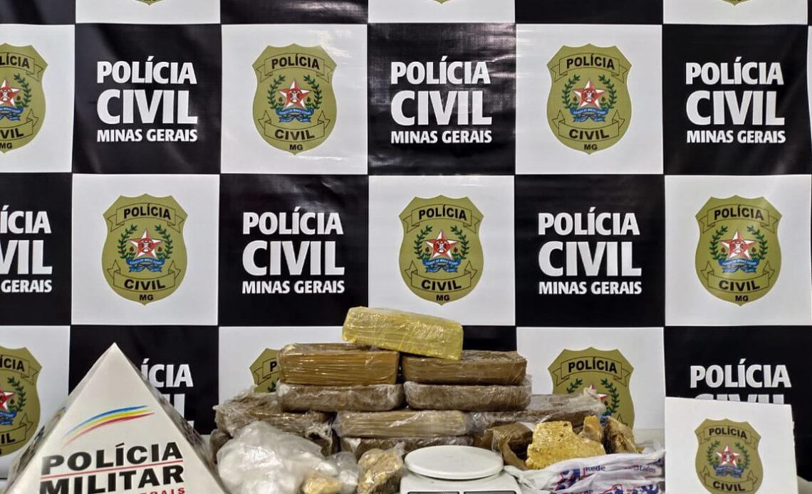 Polícia Civil prende suspeitos de tráfico e envolvimento em latrocínio na cidade de Pouso Alegre - Foto: Divulgação/PCMG