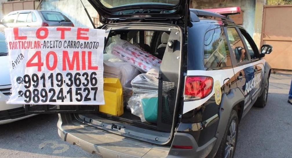 Operação contra venda ilegal de lotes prende grileiros na Grande BH - Foto: Polícia Civil/Divulgação