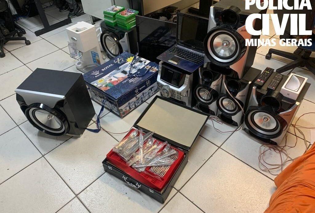 Polícia Civil prende três suspeitos de aplicar golpes pela internet em Santa Luzia - Foto: Divulgação/PCMG