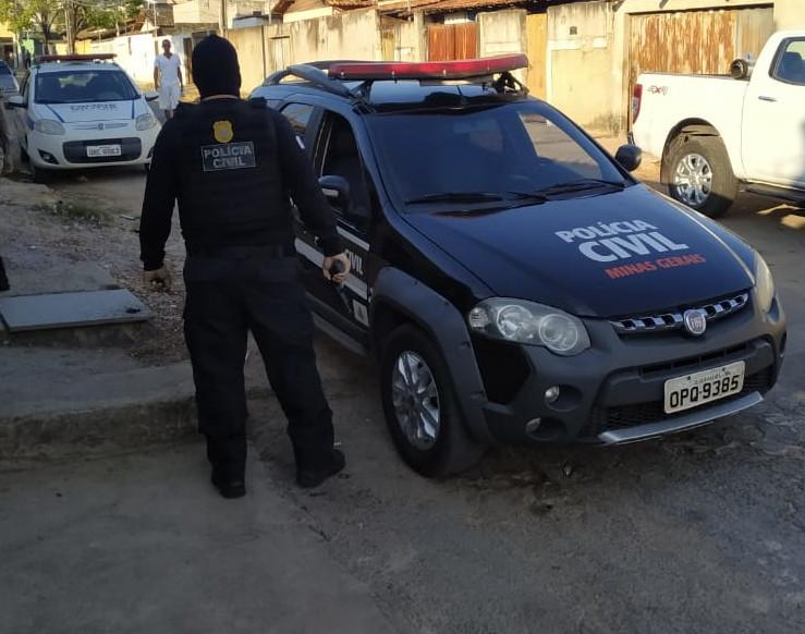 Operação cumpre de 12 mandados de busca e apreensão em Sete Lagoas - Foto: Divulgação/PCMG