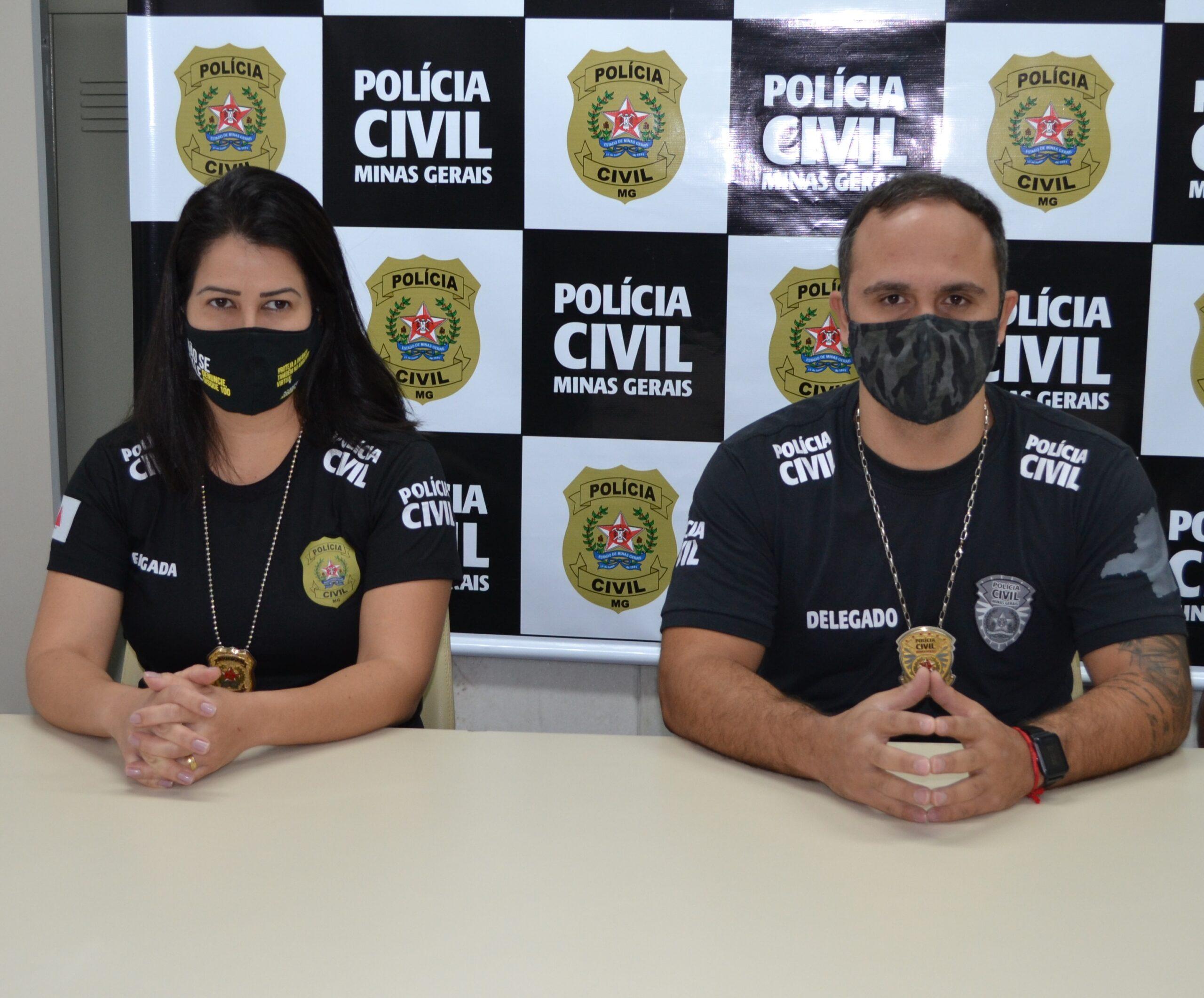 PCMG prende padrasto por sequestro, cárcere e estupro de vulnerável - Foto: Divulgação/PCMG