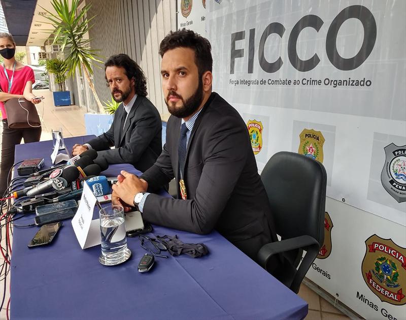 Delegado Murillo Ribeiro em entrevista - Foto: Divulgação/PCMG