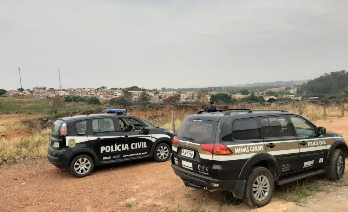 Polícia identifica dupla suspeita de incêndios em Andradas - Foto: Divulgação/PCMG
